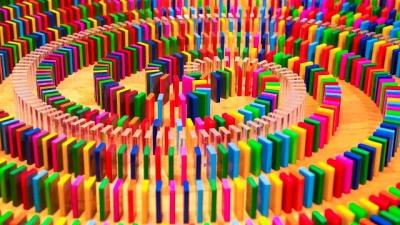 Fazendo truques incríveis apenas com dominós #2