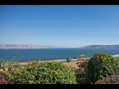 Mar da Galiléia está prestes a encher pela primeira vez em 28 anos