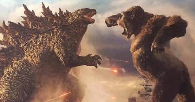 Teaser de Godzilla vs. Kong mostra briga