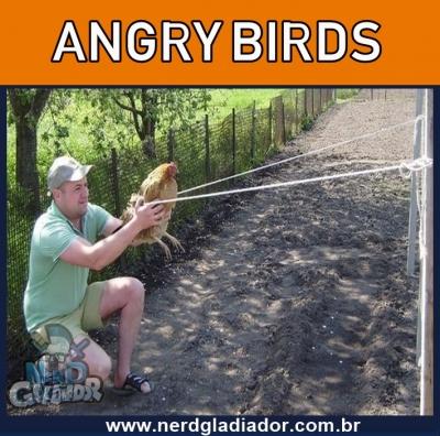 Angry Birds da Vida haha