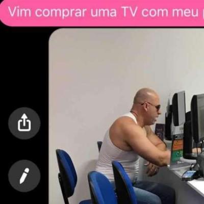 Sósia do Vin Diesel