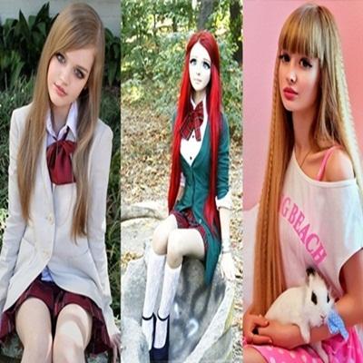 5 Garotas que Parecem Bonecas