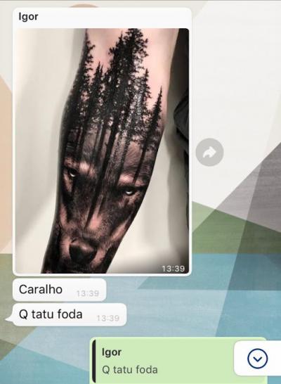 Isso sim é uma Tattoo de respeito