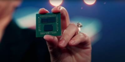AMD triplica cache do CPU Zen 3 com empilhamento 3D