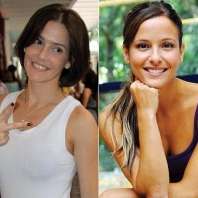 Celebridades brasileiras que parecem ser irmãs gêmeas