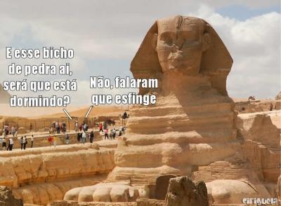 Aquele rolê no Egito