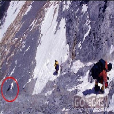 A bela adormecida do Monte Everest