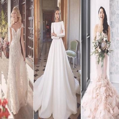 Os 12 mais belos vestidos de noiva 2020