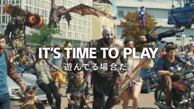 Sony lança comercial com personagens de vários jogos juntos