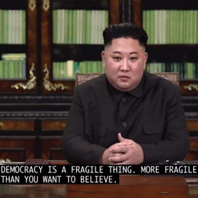 A democracia vive ou morre com você, certo?
