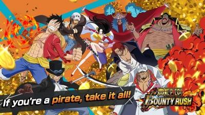 One Piece Bounty Rush - Um dos melhores jogos de One Piece Para Android