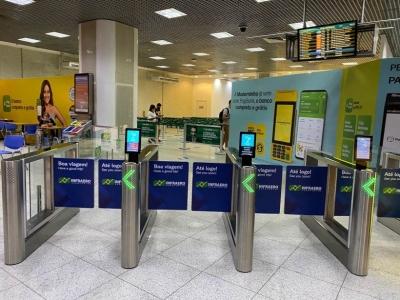Aeroporto Santos Dumont inicia teste de embarque 100% digital