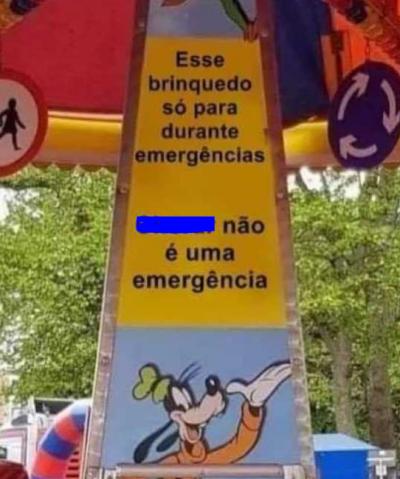 Uma verdadeira emergência