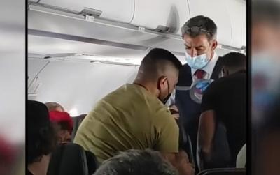 Em pleno voo, garoto de 13 é preso ao assento e piloto vira o avião de volta à o