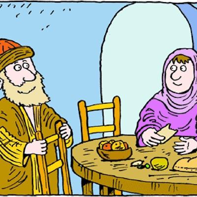Ananias e Safira.