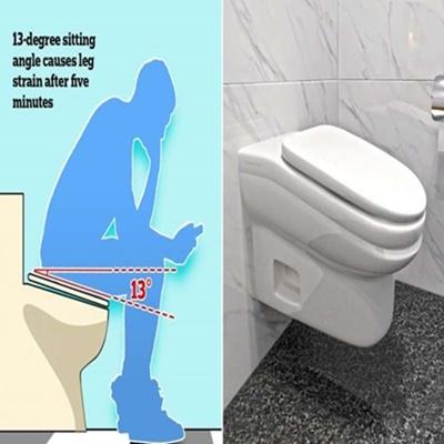 Empresa cria vaso desconfortável para reduzir tempo de funcionários no banheiro