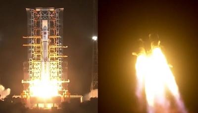 China lança nave para abastecer futura estação espacial do país