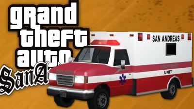 GTA San Andreas #55 Missão da Ambulância [100%]