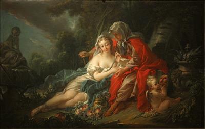 A pintura rococó de François Boucher