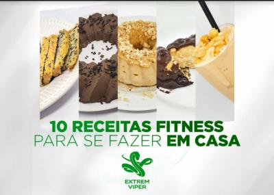 Veja Aqui As 10 Receitas Fitness Para Fazer Se Em Casa.