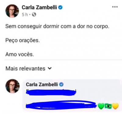 Carla... você está bem?
