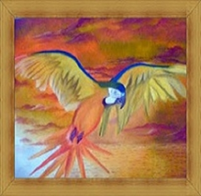 Retratando a natureza, Ivan Gomes, pintor com a boca, supera seus limites!