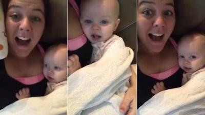 Você sabia que bebês adoram imitar coisas?