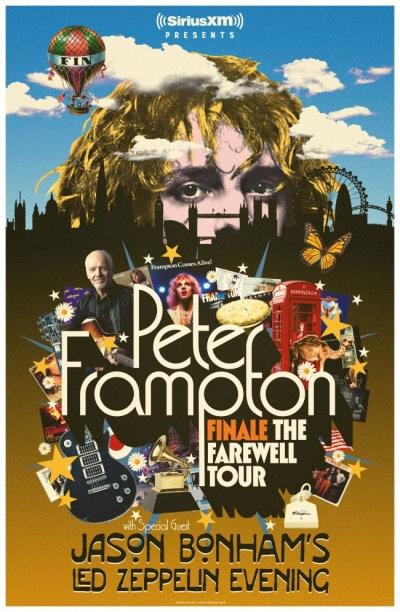 Peter Frampton anuncia sua turnê de despedida