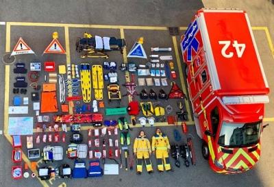 Fotos mostram o equipamento de serviços de emergência ao redor do mundo #2