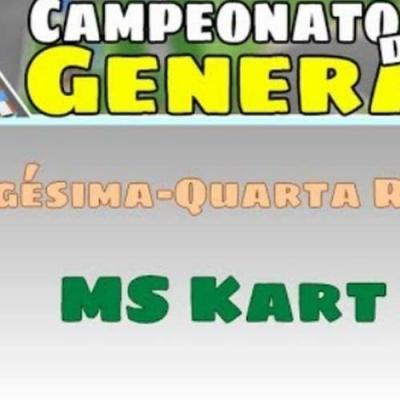 Campeonato de Generally - Resultado da vigésima-quarta rodada - MS Kart X