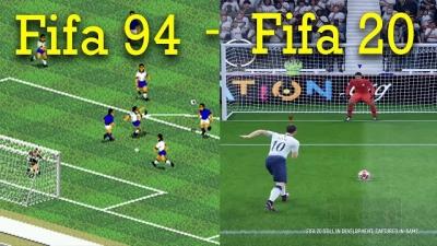 Veja a evolução de todos os jogos da série FIFA