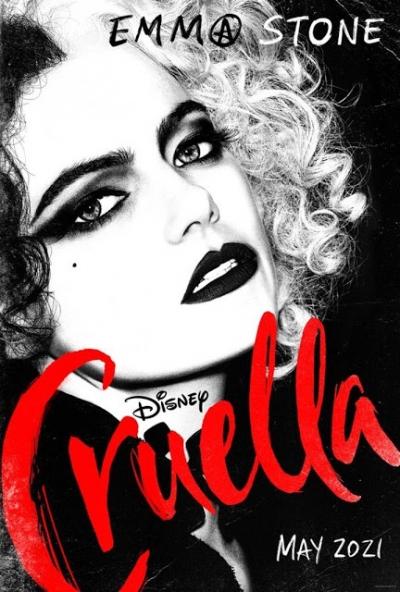 Filme da Cruella De Vil ganha seu primeiro cartaz
