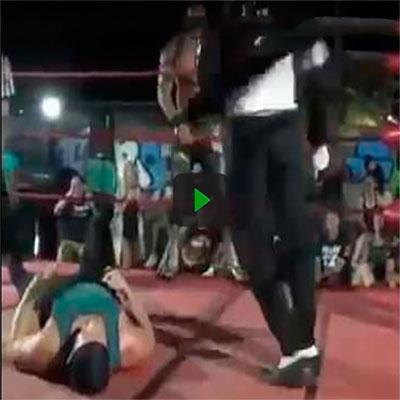 Michael Jackson foi encontrado vivo e agora pratica wrestling