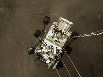 Veja o momento exato que essa sonda tocou em marte