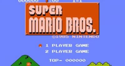 Você sabia que o famoso tema do Mario tem pessoas cantando?