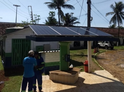 Compesa utiliza energia solar