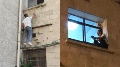 Homem escala parede de hospital para se despedir da mãe, internada por covid-19
