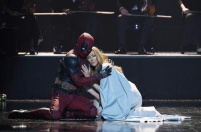 Relembre quando Celine Dion dançou com o famoso Deadpool