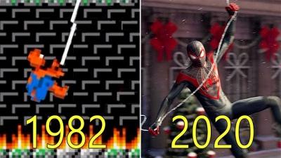 Veja a evolução de todos os jogos do Homem Aranha