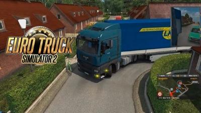 Euro Truck Simulator 2 - 'local apertado para descarregar'