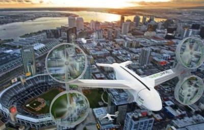 Uber Eats testa entrega por drones nos EUA