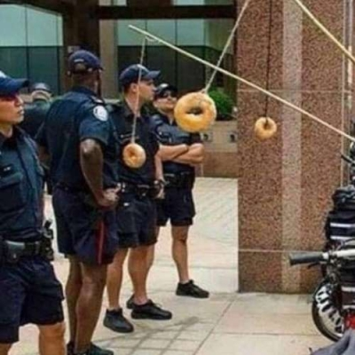 Isca de policial americano