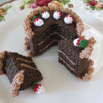Artista usa crochê para criar pratos deliciosos