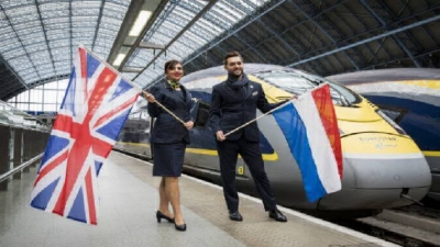Eurostar Amsterdã-Londres opera sem 'baldeação' a partir de abril