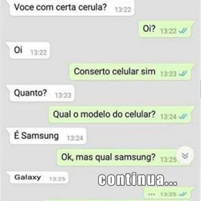 Você conserta celular?