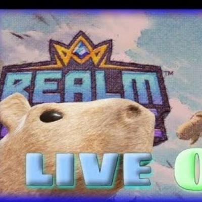 Live de Sabadão - Busca das vitórias no Realm Royale