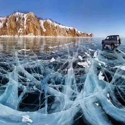 O lago congelado mais antigo e profundo do mundo