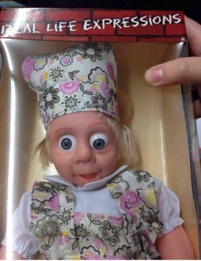 Confira alguns brinquedos bizarros que era melhor nem terem sido feitos