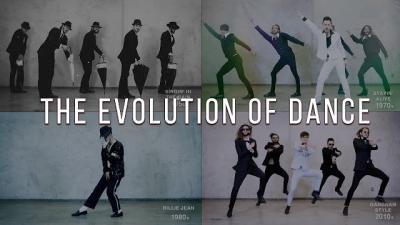 Como a dança evoluiu desde 1950