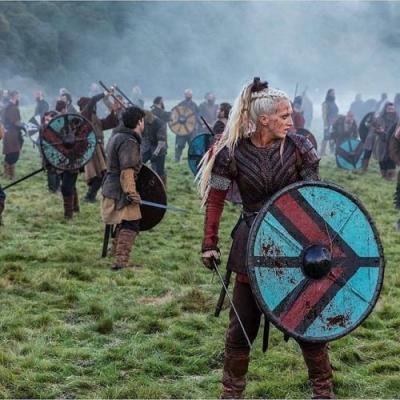 Vikings: A altura real das atrizes da série